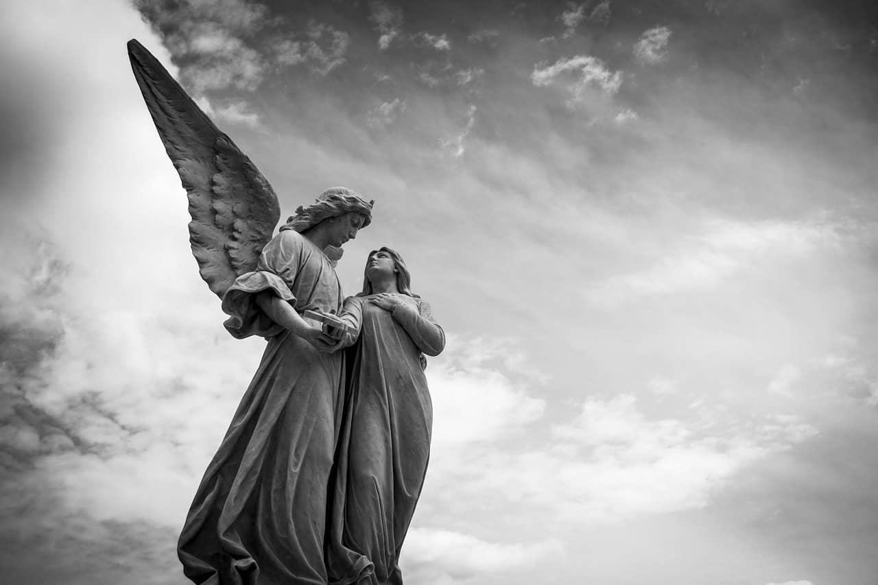 The Angel by William Blake Visual Representation