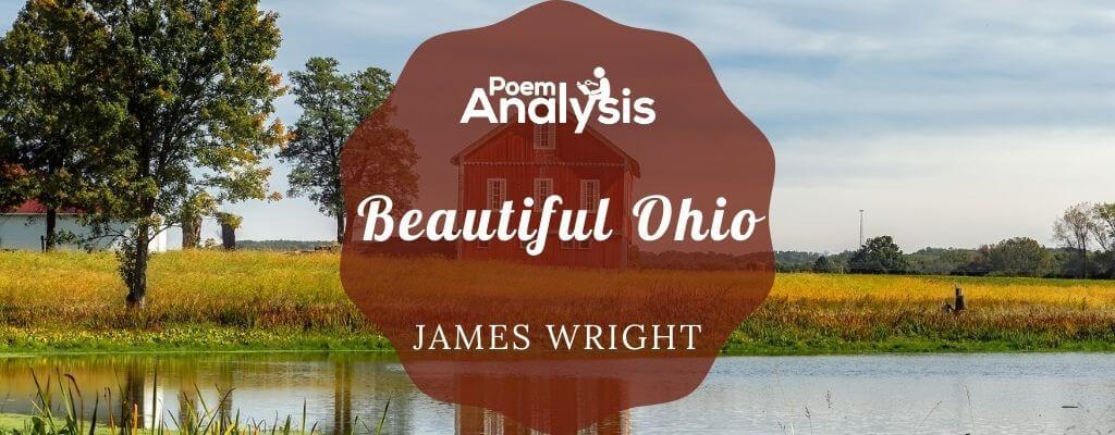 Beautiful Ohio by James Wright