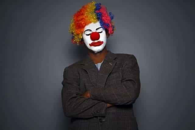 The Clown Punk by Simon Armitage Visual Representation