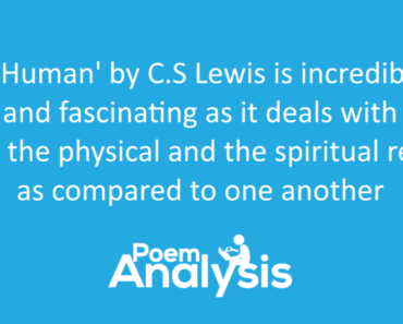 On Being Human by C.S. Lewis Summary