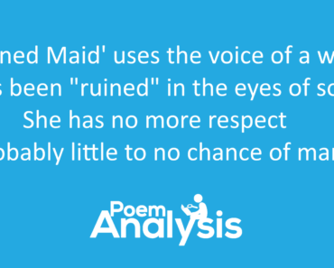 The Ruined Maid by Thomas Hardy Summary