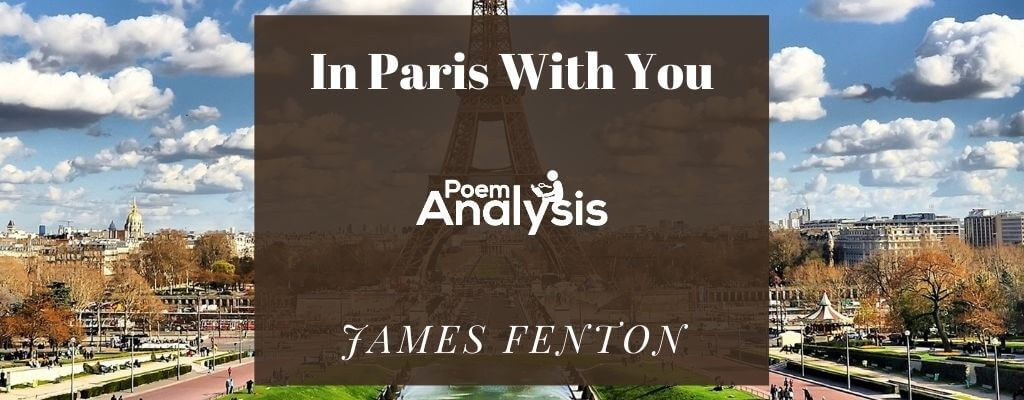 In Paris With You by James Fenton