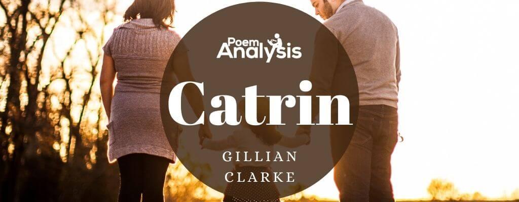 Catrin by Gillian Clarke