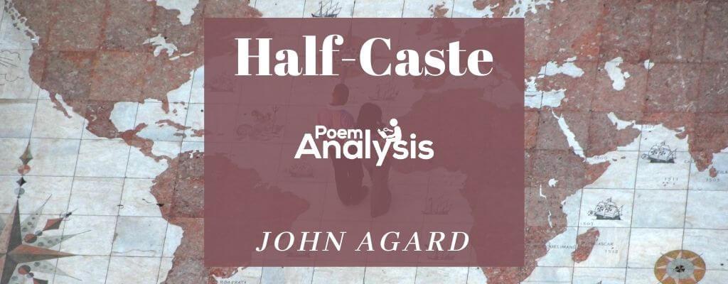 Half-Caste by John Agard