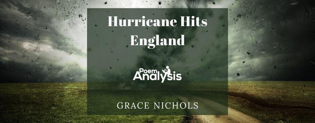 Hurricane Hits England by Grace Nichols