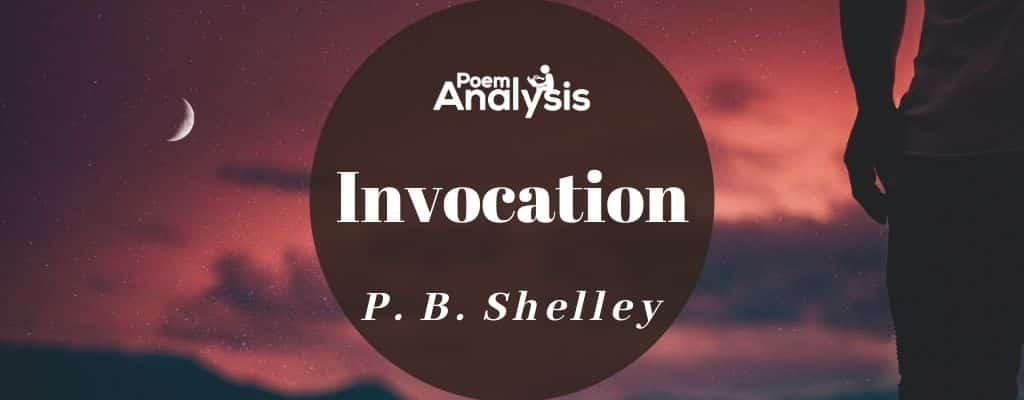Invocation by Percy Bysshe Shelley