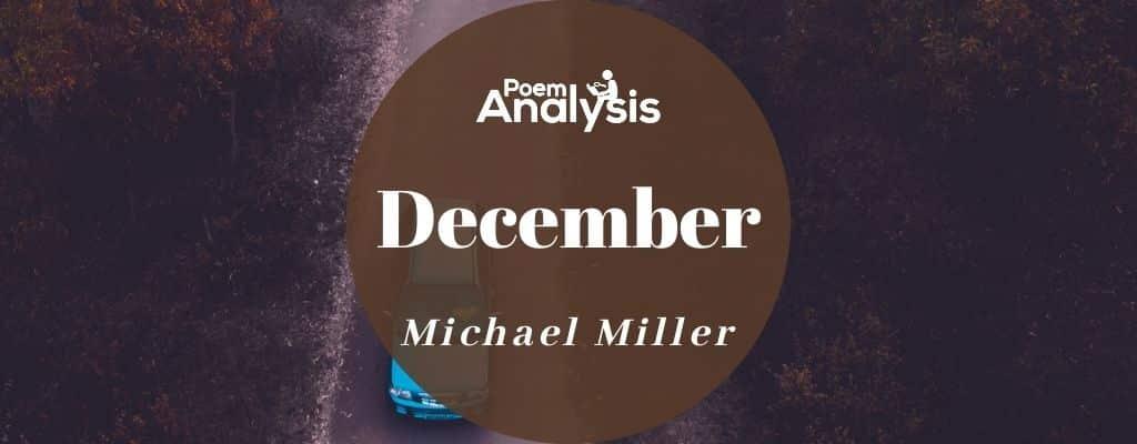 December by Michael Miller