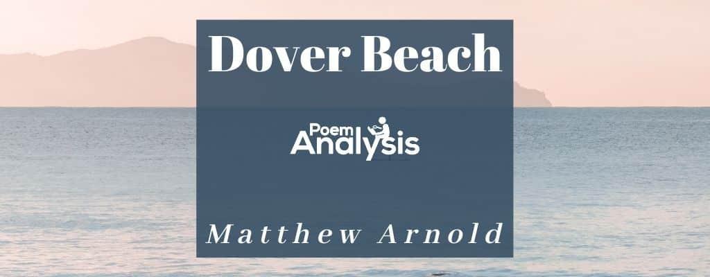 Dover Beach by Matthew Arnold