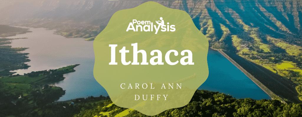 Ithaca by Carol Ann Duffy
