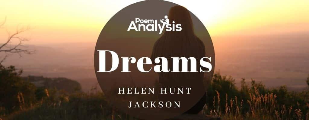 Dreams by Helen Hunt Jackson