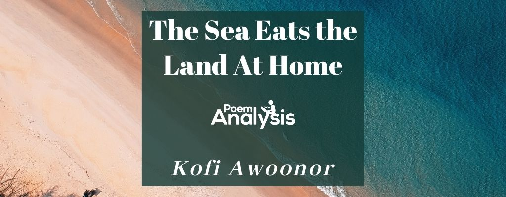 The Sea Eats the Land At Home by Kofi Awoonor