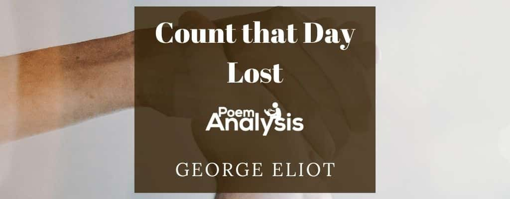 Count that Day Lost by George Eliot