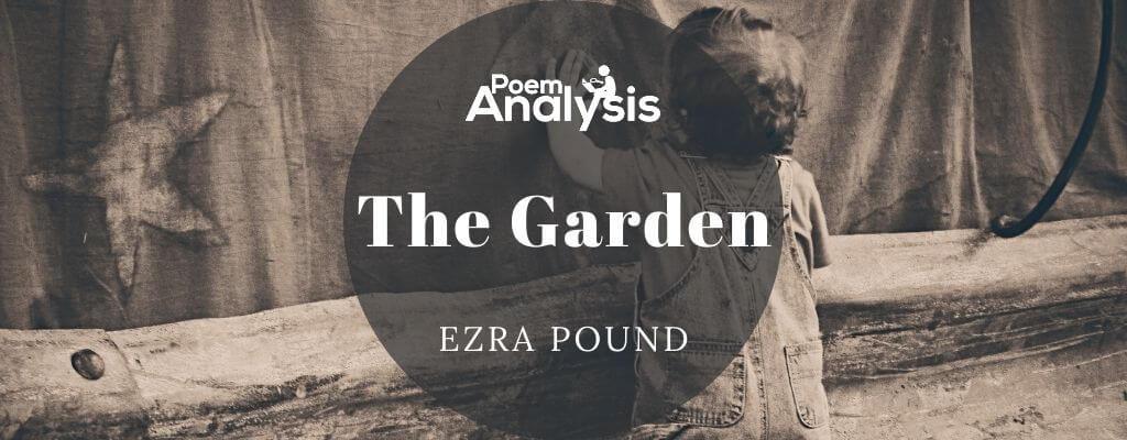 The Garden by Ezra Pound