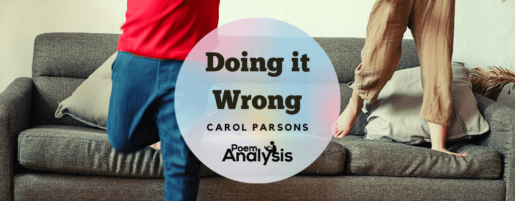 Doing it Wrong by Carol Parsons