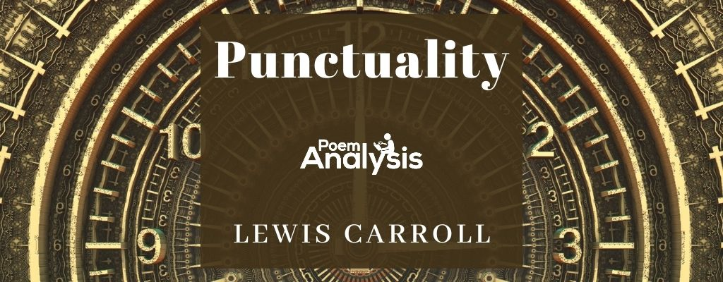 Punctuality by Lewis Carroll