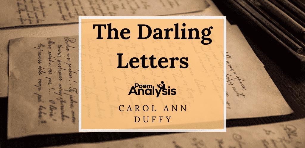 The Darling Letters by Carol Ann Duffy