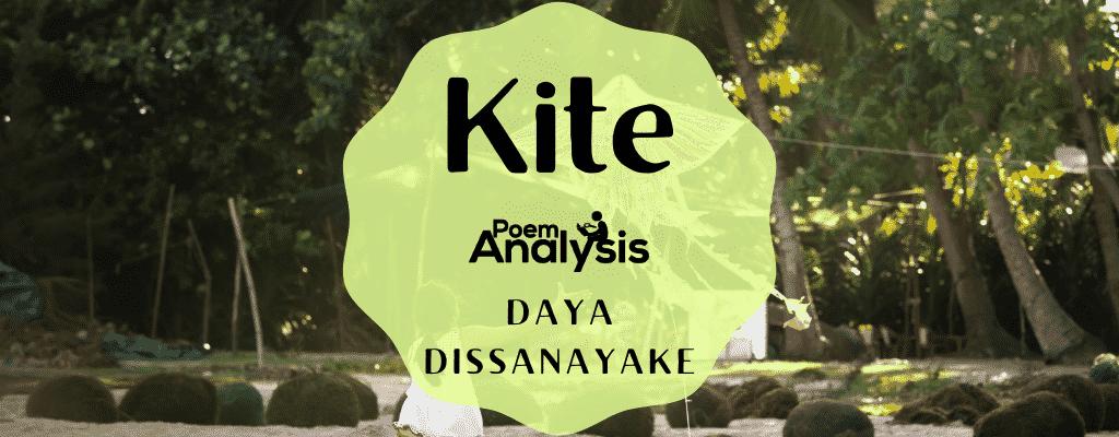 Kite by Daya Dissanayake