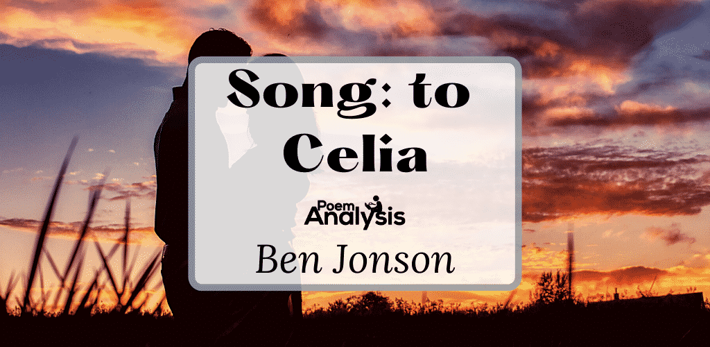 Song: to Celia by Ben Jonson
