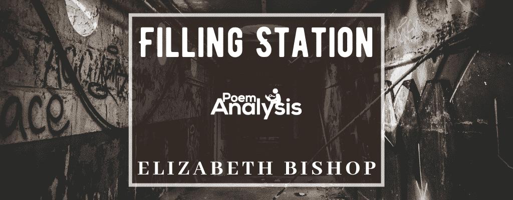 Filling Station by Elizabeth Bishop