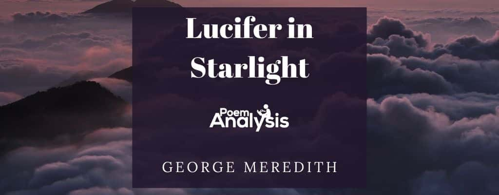 Lucifer in Starlight by George Meredith