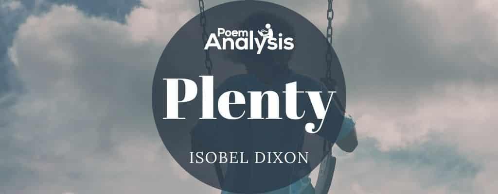 Plenty by Isobel Dixon