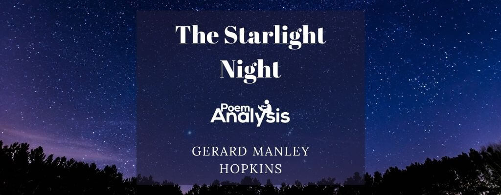 Analysis of The Starlight Night by Gerard Manley Hopkins
