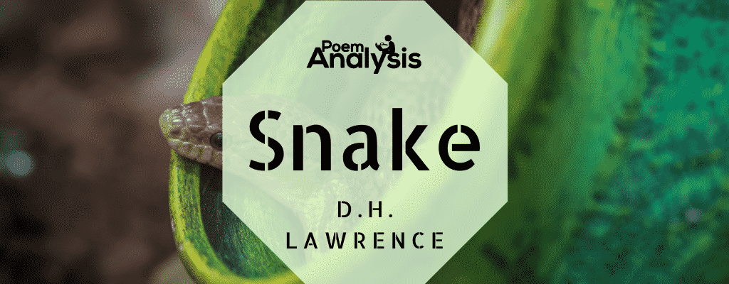 Snake by D.H. Lawrence