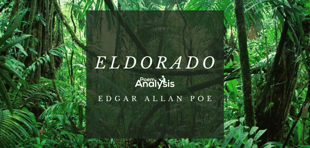 eldorado by edgar allan poe