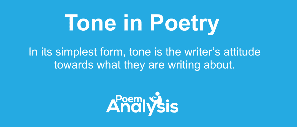 What is Tone in Poetry