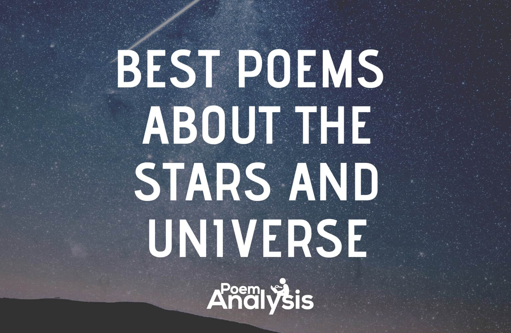 10 of the Best Poems about Stars and the Universe For Poet Lovers