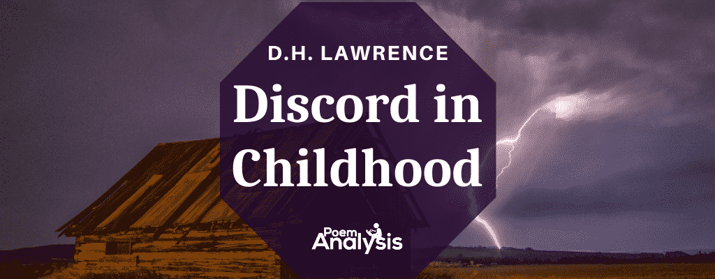 Discord in Childhood by D.H. Lawrence