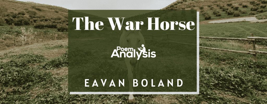 The War Horse by Eavan Boland