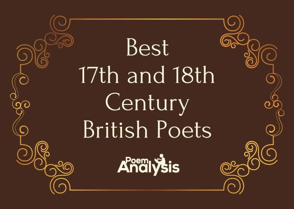 Best 17th and 18th Century British Poets
