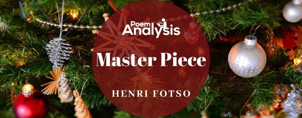 Master Piece by Henri Fotso