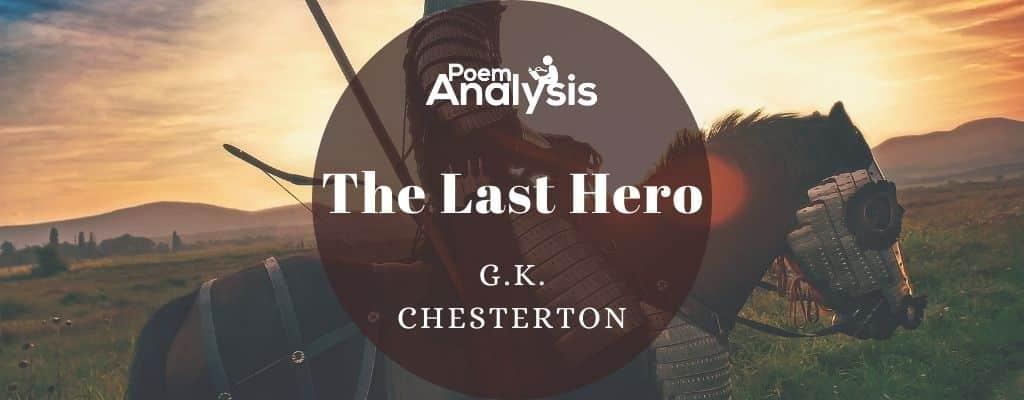 The Last Hero by G.K. Chesterton