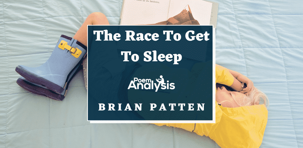 The Race To Get To Sleep by Brian Patten