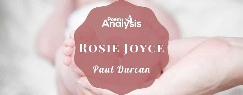 Rosie Joyce by Paul Durcan