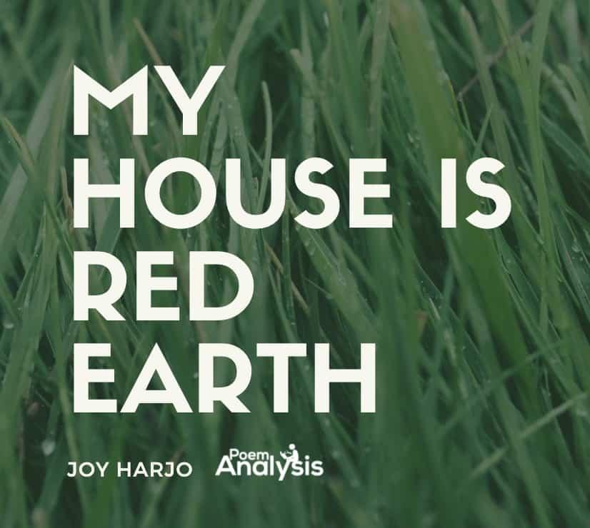 My House is Red Earth by Joy Harjo