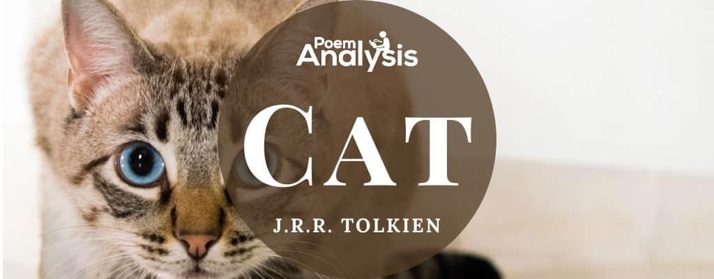 Cat by J.R.R. Tolkien