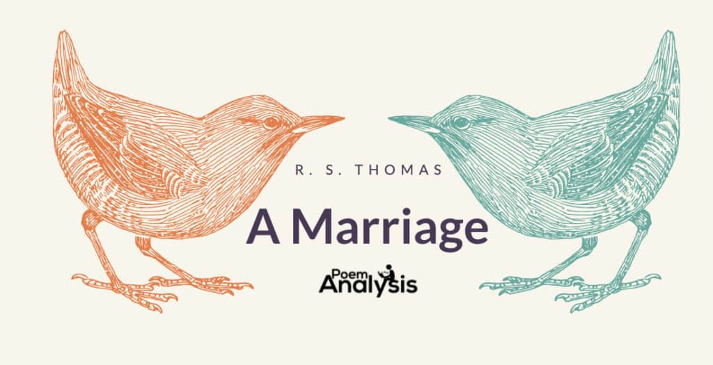 A Marriage by R. S. Thomas