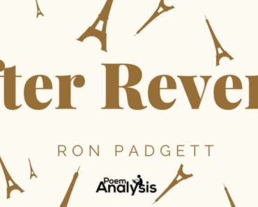 After Reverdy by Ron Padgett