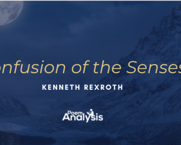 Confusion of the Senses by Kenneth Rexroth