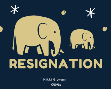 Resignation by Nikki Giovanni