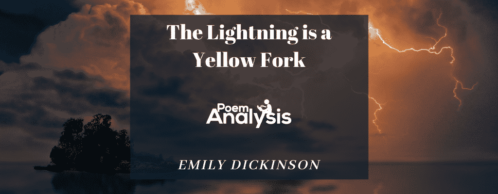 Analysis Of The Poem The Fork By