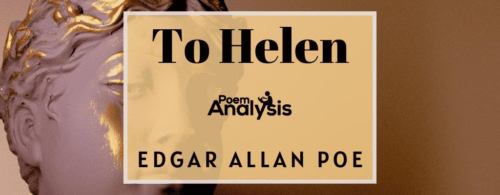 To Helen by Edgar Allan Poe