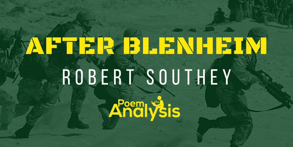 After Blenheim by Robert Southey