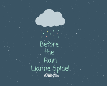 Before the Rain by Lianne Spidel