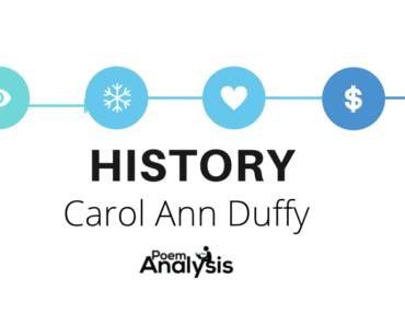 History by Carol Ann Duffy