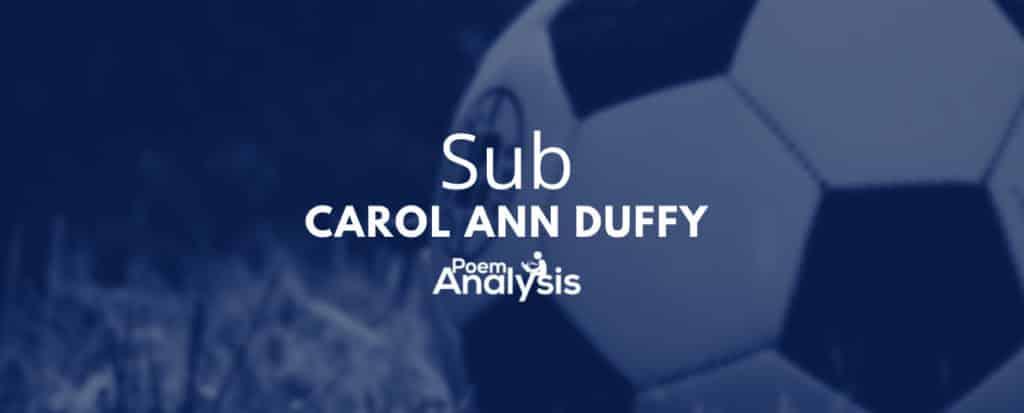 Sub by Carol Ann Duffy