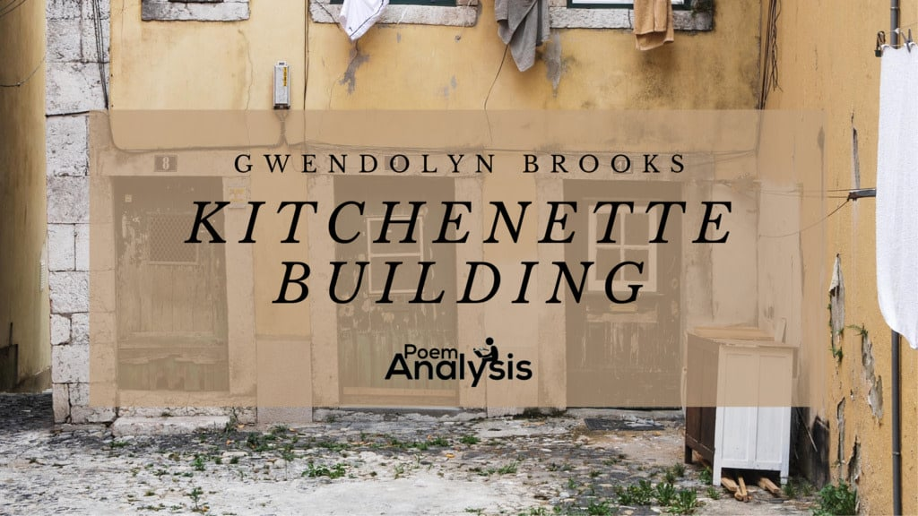 kitchenette building by Gwendolyn Brooks
